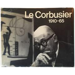 """W. Boesiger & H. Girsberger, """"Le Corbusier 1910-65"""", Published 1967"""