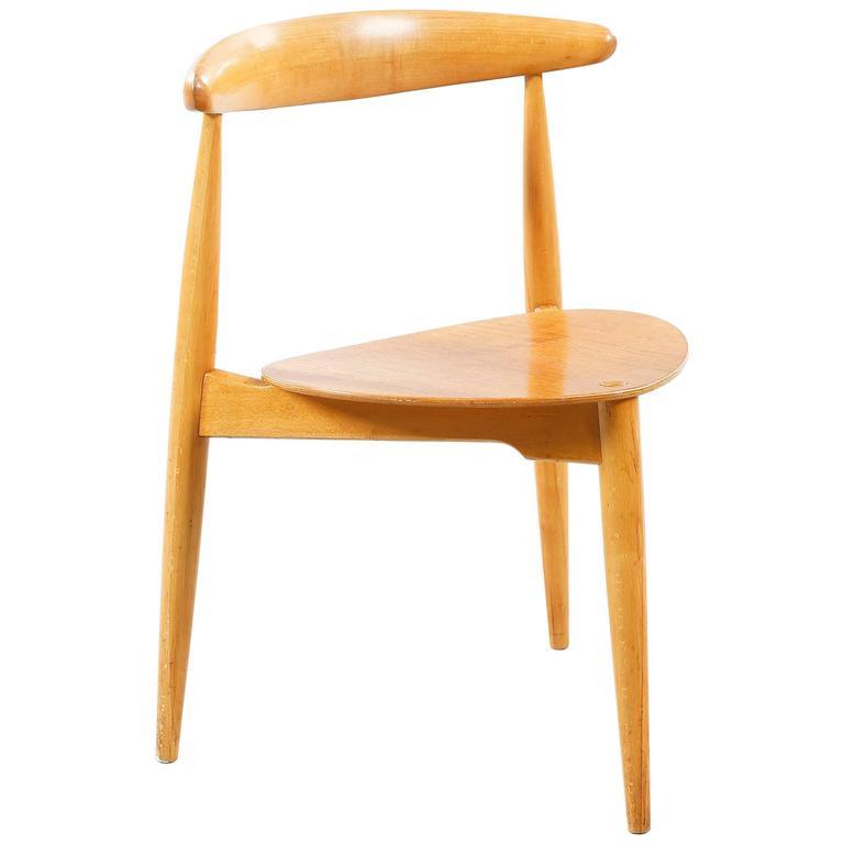 "Hans Wegner ""Heart Chair"" FH 4103"