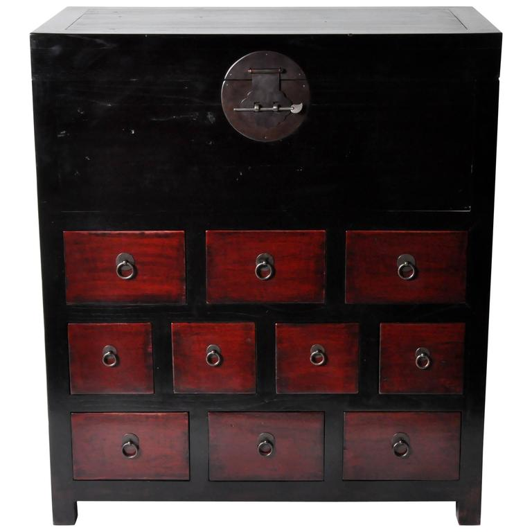 Chinese Medicine Chest with Restoration