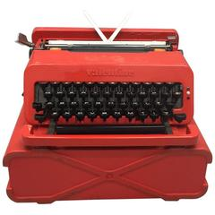 Olivetti Valentine Typewriter by Ettore Sottsass and Perry King