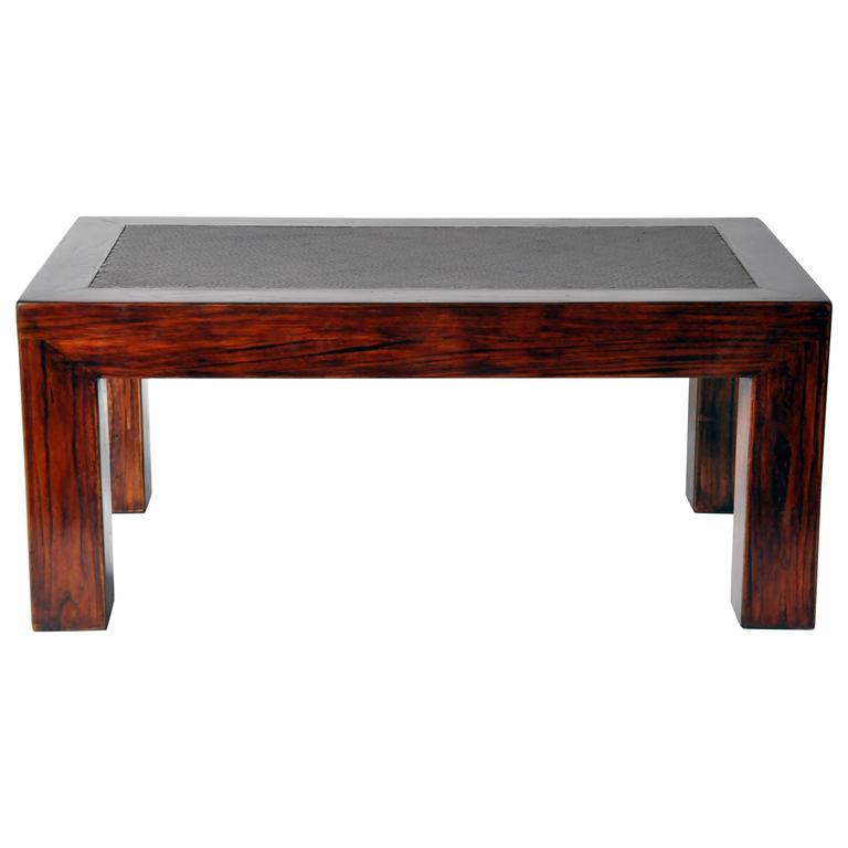 Chinese Low Table With Restoration For Sale At 1stdibs