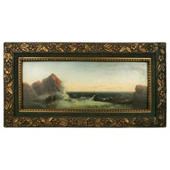 Seascape Oil Painting, circa 1920s