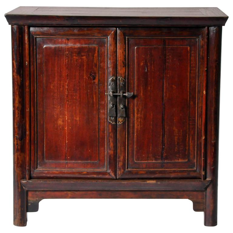 Chinese side chest with restoration for sale at 1stdibs for Chinese furniture restoration