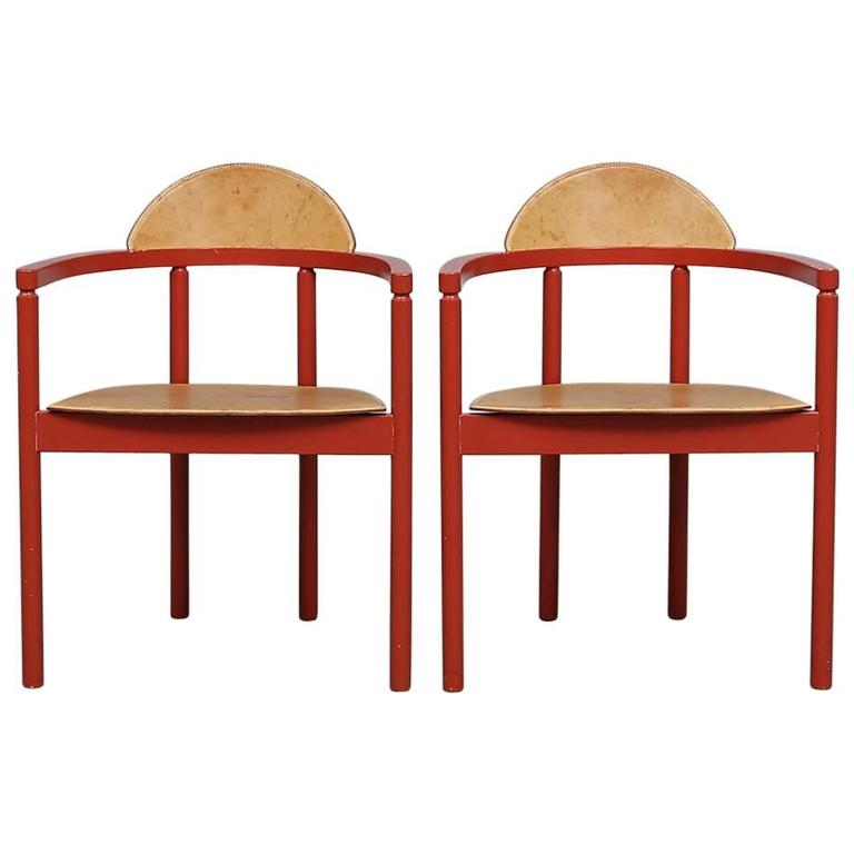 Swedish Chairs, Karl Andersson and Sons, 1950s, Sweden For Sale