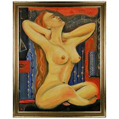 Female Nude Oil Painting