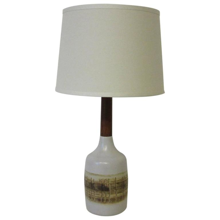 Gordon And Jane Martz Pottery Table Lamp For Marshall Studios For Sale