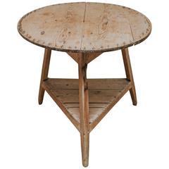 18th Century Pine Cricket Table