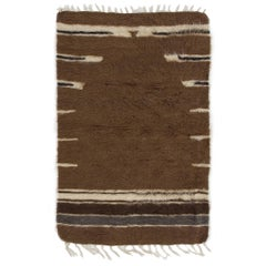 Soft Mohair Wool Kilim Rug. Floor Covering & Wall Hanging. Sofa Throw. Bed Cover