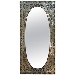 Elegant One of a Kind Copper Mirror