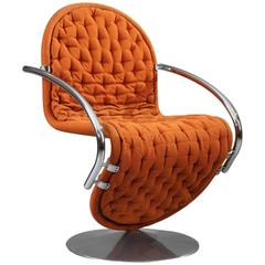1-2-3 System Dining Armchair by Verner Panton for Fritz Hansen