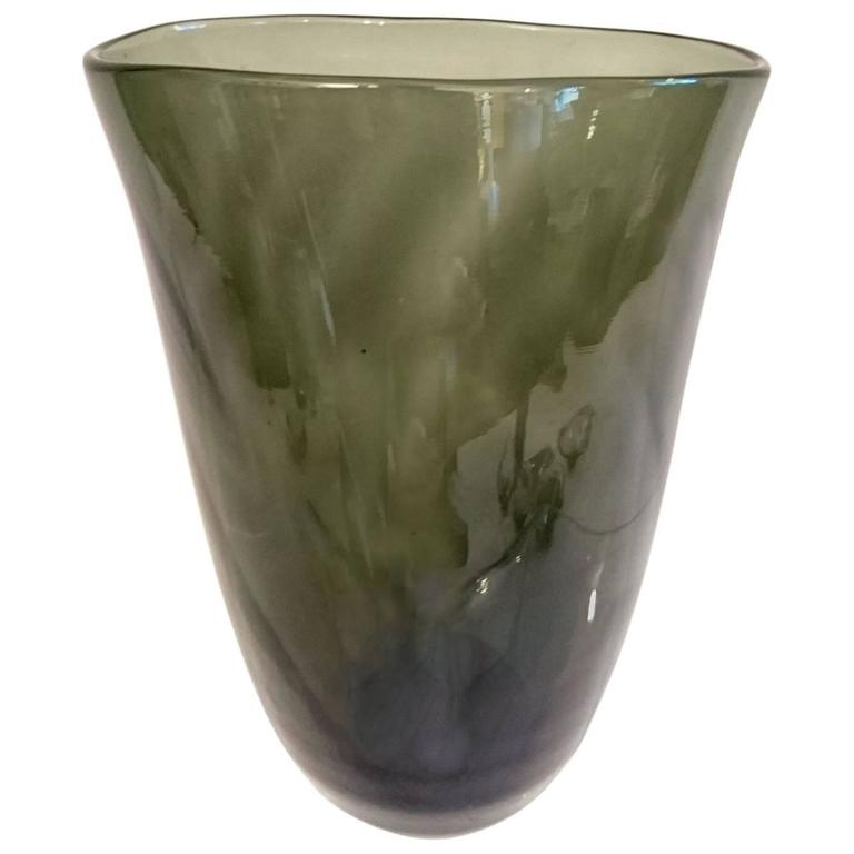 Swedish Art Deco Glass Vase
