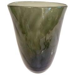 Swedish Art Deco Glass Vase