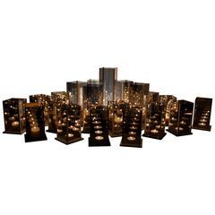Original 20 Candleholders Set - Kaleido - Arturo Erbsman