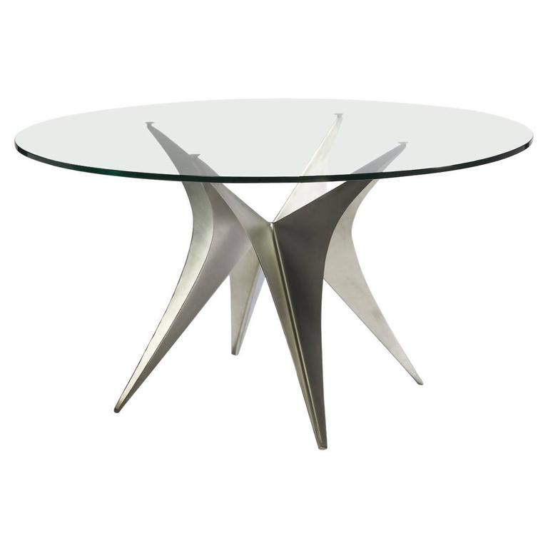 Paul Legeard Circular Table For Sale