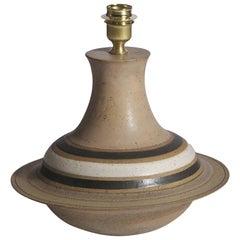Bruno Gambone Ceramic Lamp Production Bruno Gambone, Italy