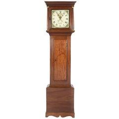 18th Century Mahogany English Longcase Clock, Signed Thomas Allen, Wantage