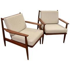 Pair of Mid-Century Armchairs