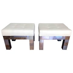 Pair of Cityscape Benches by Paul Evans for Directional