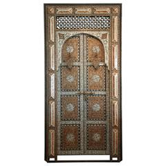 Exquisite 19th Century Moroccan Palace Door