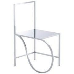 """nendo, """"Manga Chair (01)"""", Stainless Steel, Mirror"""