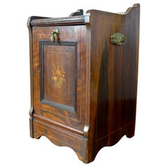 19th Century Small Storage Cabinet Made of Palisander Wood