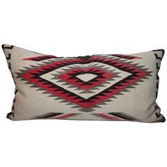 Monumental Navajo Indian Weaving Eye Dazzler