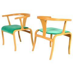 Rare Office/Side Chair Attributed to Toshiyuki Kita for Tendo, Japan, circa 1960