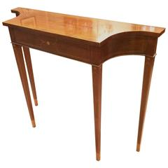 Beautiful Narrow Neoclassical Console Table by Baker