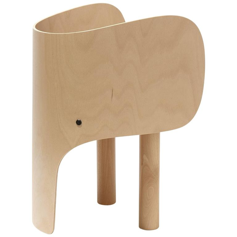 Elephant Child Chair in Beech Wood by Elements Optimal