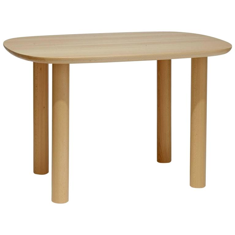 Elephant child table in beech wood by elements optimal