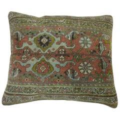 Persian Bidjar Rug Pillow