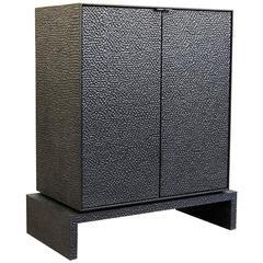 V2 Cabinet in Hand-Carved Maple Hardwood