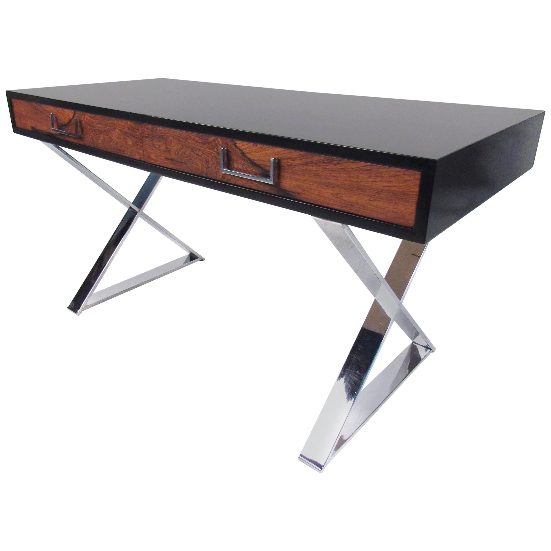 Campaign Desk for John Stuart West Michigan Furniture.