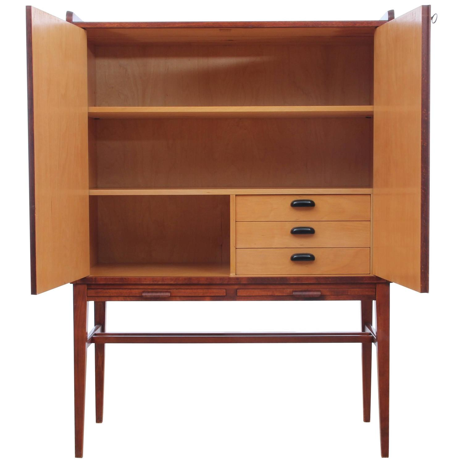 Marvelous Mid Century Modern Scandinavian Cabinet In Rosewood At 1Stdibs Pabps2019 Chair Design Images Pabps2019Com