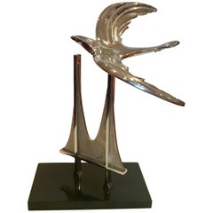 Whimsical Golden Gate Bridge Sculpture by M K Shannon Signed and Numbered