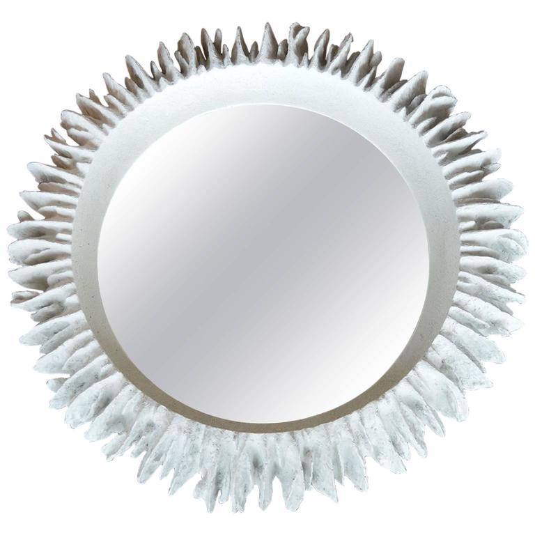 Decorative round mirror for sale at 1stdibs for Fancy mirrors for sale