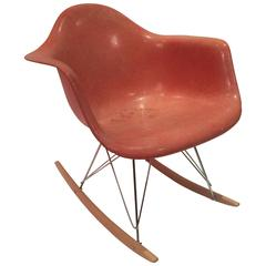 Eames RAR Rocker in Faded Salmon