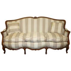 Charming 19th Century French Louis XV Settee