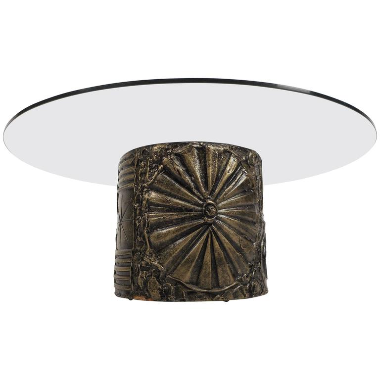 Mid-Century Modern Brutalist Coffee Table by Adrian Pearsall