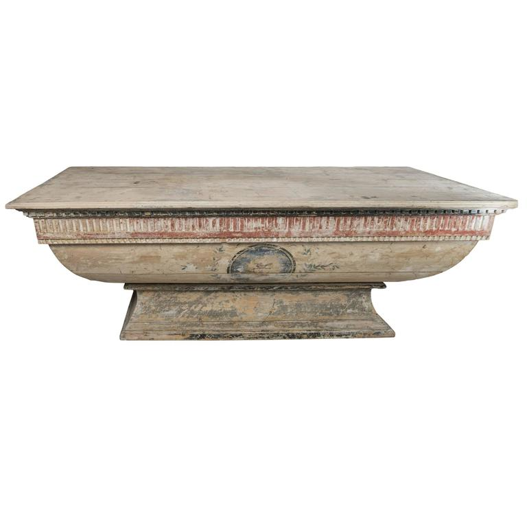 Antique Alter Table 'Bar'