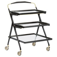 Cesare Lacca Bar Cart for Cassina
