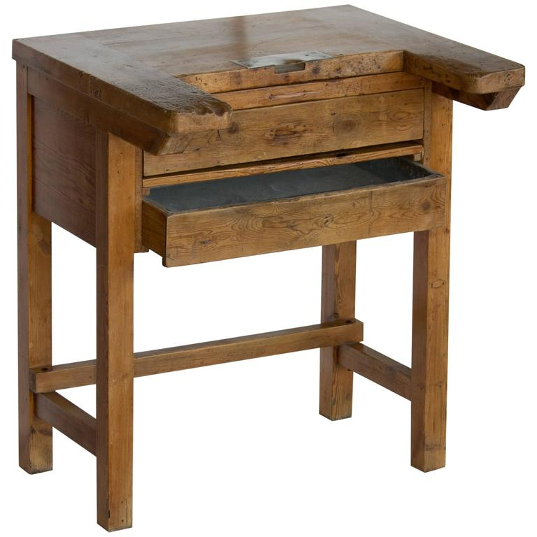 Rare Antique English Watchmaker S Desk For