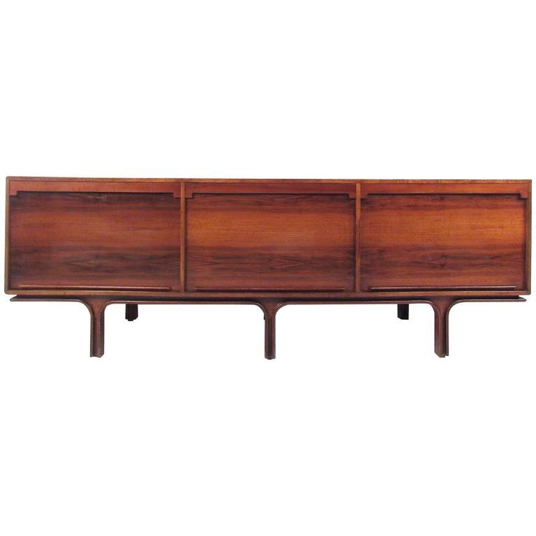 Gianfranco Frattini Mid-Century Sideboard for Bernini For Sale
