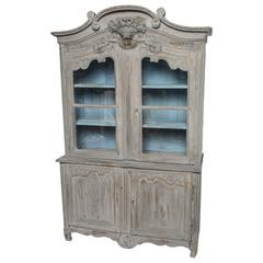 Hand-Painted French Buffet a Deax