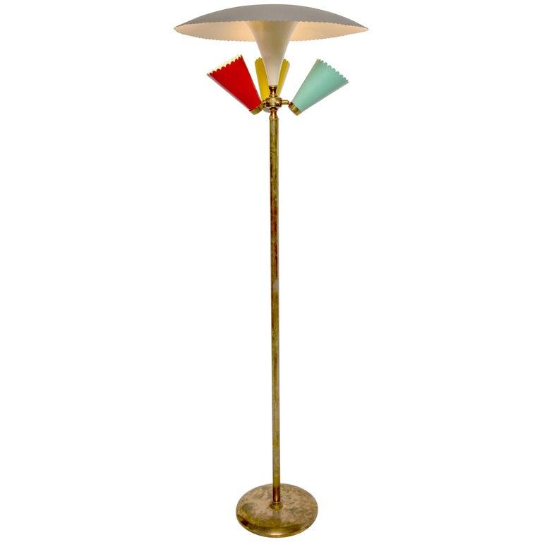 Vintage Italian Floor Lamp