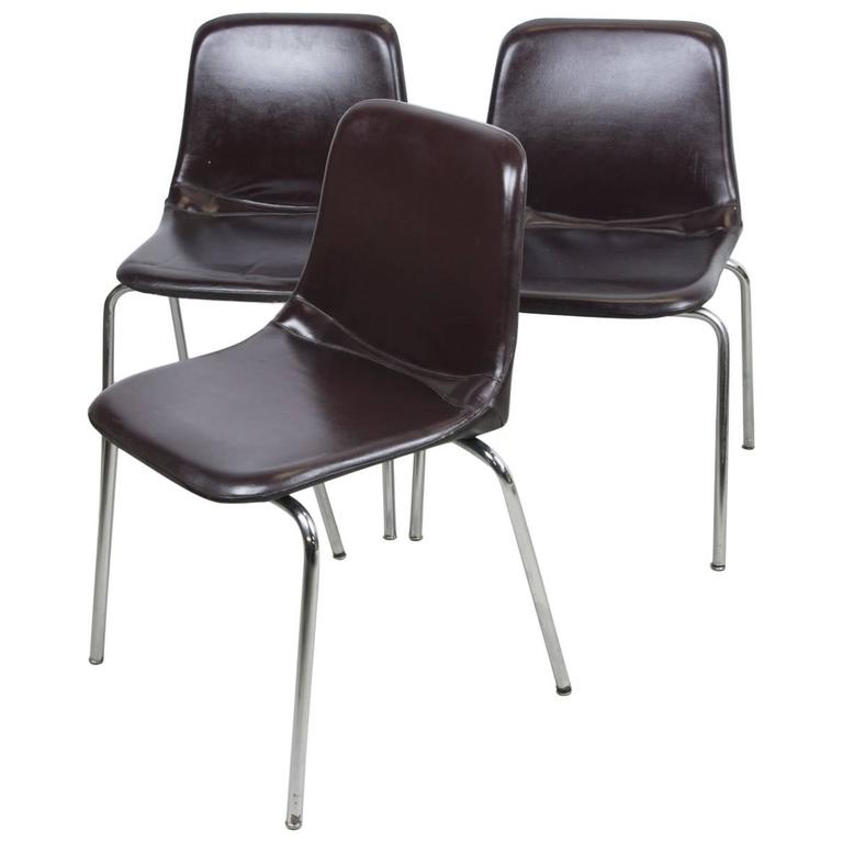 Side Chairs by Ico Parisi for MIM Mobili For Sale
