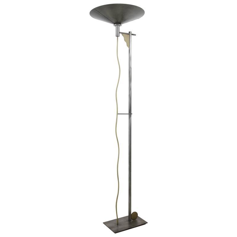 Rare Floor Lamp by Robert Sonneman for Kovacs, 1980s