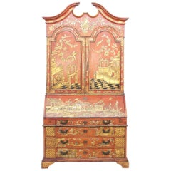 Chinoiserie Secretary