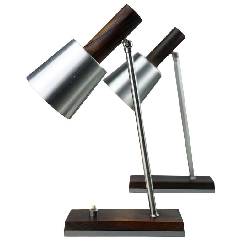 Set of Table Lamps by Lyfa, Denmark