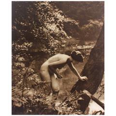 Photogravure Art Nouveau Nude